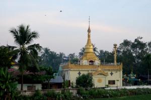 Yangon suburb
